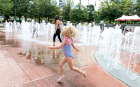 Centennial Olympic Park Fountain of Rings