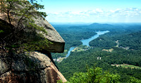 Chimney Rock Park in the North Carolina Mountains