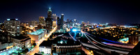 Panoramic of Downtown Atlanta