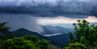 Storm in the North Carolina Mountains near the BRP.