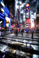 Times Square.  HDR