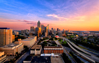 Top of Crowne Plaza Midtown Atlanta
