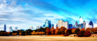 Piedmont Park Fall 2013.  HDR Panoramic.