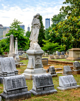Historic Oakland Cemetery in Atlanta, Georgia