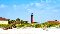 Ponce Inlet Beach and Lighthouse Summer 2016