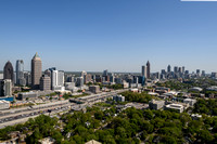 Atlanta Panoramics from Atlantic Station 2018